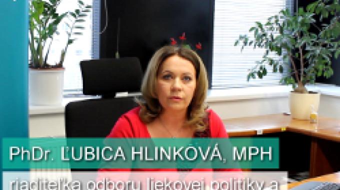 Ľ. Hlinková: Aké výhody prináša eRecept pre pacientov?