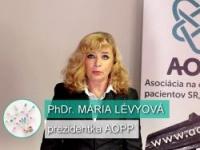 M. Lévyová: Prečo vzdelávať o rozumnom užívaní liekov?